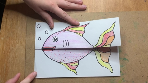 Thumbnail for entry Folded Surprise Fish