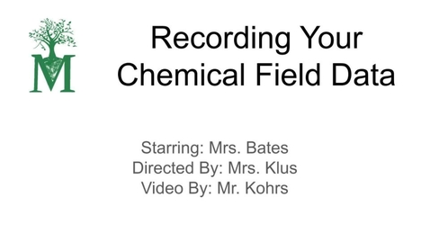 Thumbnail for entry Recording Data
