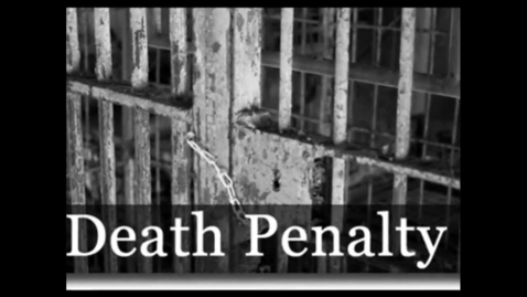 Thumbnail for entry death penalty video