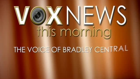 Thumbnail for entry VOX News this Morning for Monday, January 12, 2015