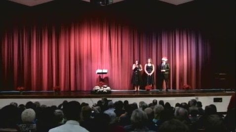 Thumbnail for entry 2011 Cheshire High School Winter Choral Concert