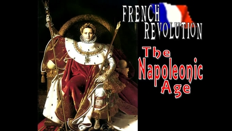 Thumbnail for entry Napoleon - Student Notes