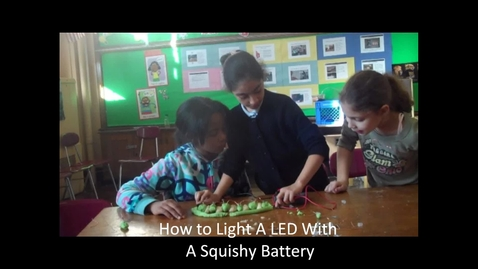 Thumbnail for entry Squishy Battery with LED