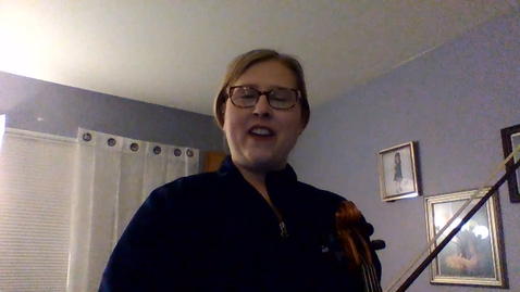 Thumbnail for entry Viola Video - Song of Seven Angles; D Major Scale; French Folk Song
