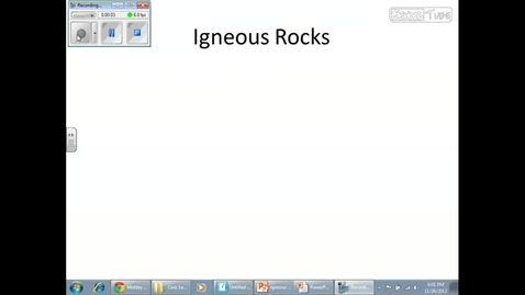 Thumbnail for entry Intrusive  Extrusive Igneous Rocks - Page  16 of the Earth Science Reference Tables part 1