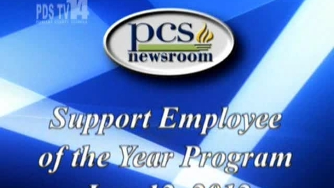 Thumbnail for entry Support Employee of the Year Program