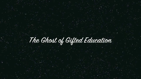 Thumbnail for entry Ghost of Gifted 2nd hour