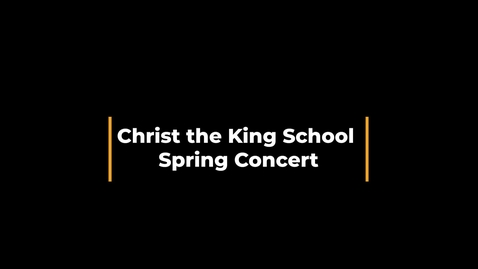 Thumbnail for entry 2021 Spring Concert,  Music and Chorus, April 29, 2021