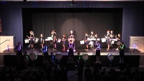 Thumbnail for entry Drumline Assembly November 17, 2017