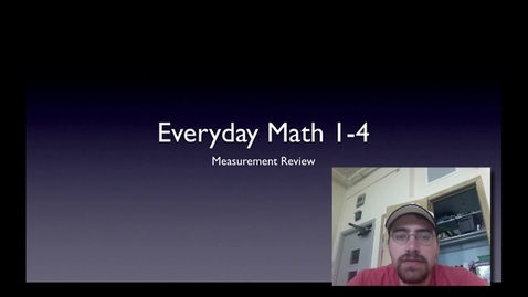 Thumbnail for entry Math Lesson 3