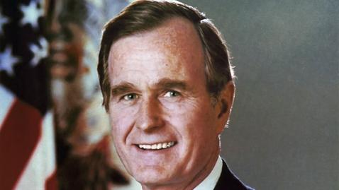 Thumbnail for entry Reaction: Bush death