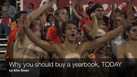 Thumbnail for entry Yearbook commercial