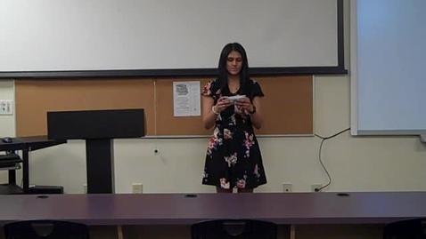 Thumbnail for entry Druvi Patel Final Speech