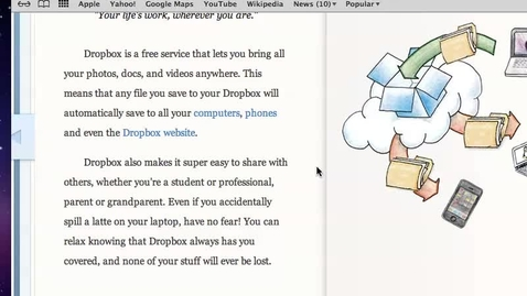 Thumbnail for entry Getting Started With Dropbox