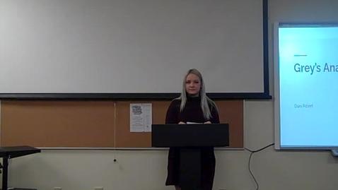 Thumbnail for entry Danika Poteet Final Speech