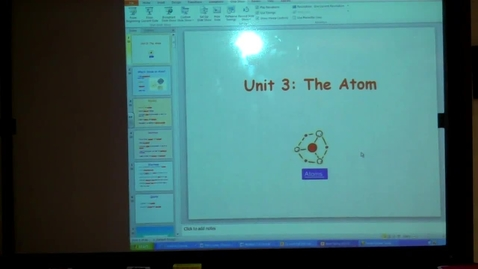 Thumbnail for entry Unit 3 The Atom