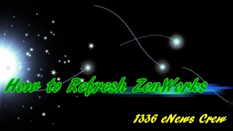 Thumbnail for entry How to refresh ZenWorks
