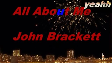 Thumbnail for entry All About Me Brackett