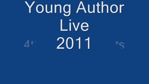 Thumbnail for entry Young Author Live Segment 1