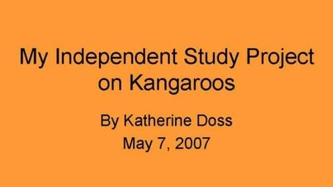 Thumbnail for entry Katherine's Kangaroos