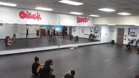 Thumbnail for entry EDGE company Dance Off rehearsal 11-29-16