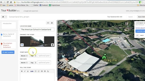 Thumbnail for entry Sharing a Google Tour and Posting in Moodle