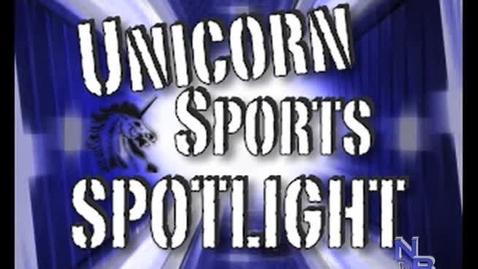 Thumbnail for entry Unicorn Sports Spotlight - John Simmons #16