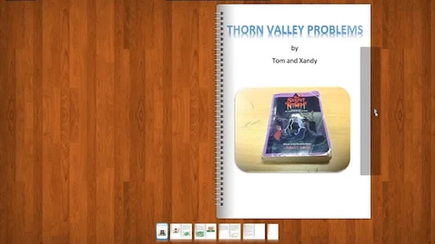 Thumbnail for entry Problem at Thorn Valley