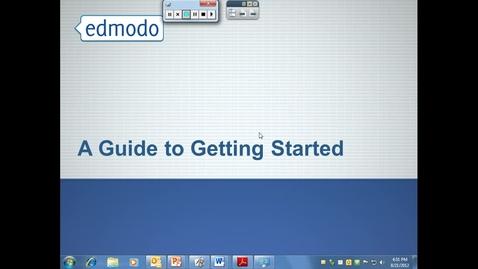 Thumbnail for entry Intro to Edmodo