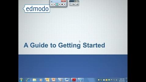 Thumbnail for entry Intro to Edmodo