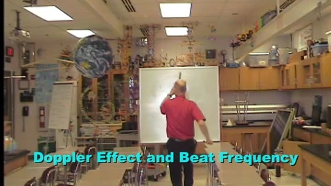 Thumbnail for entry Doppler Effect and Beat Frequency Demonstration