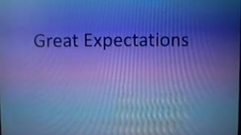Thumbnail for entry Great Expectations
