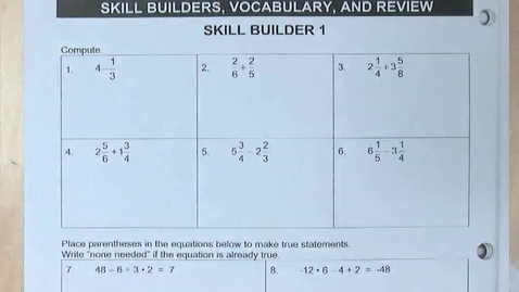 Thumbnail for entry SP4 - WU on p. 22 and Answers to pp. 5-7 and Lesson 4.2a on pp. 9-12