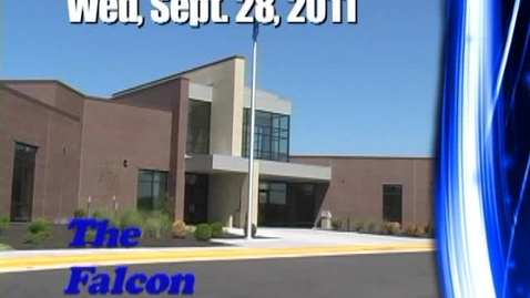 Thumbnail for entry The Falcon Daily  Wednesday, September 28, 2011