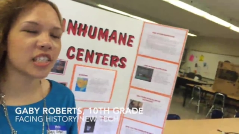 Thumbnail for entry Human Rights Summit at Cleveland Metropolitan School District's Facing History New Tech