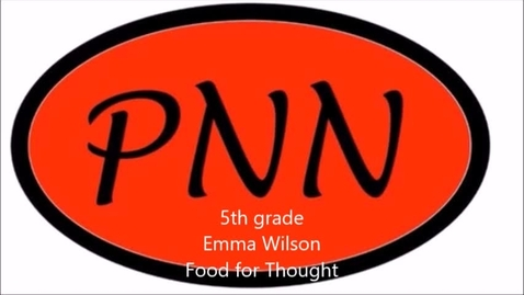 Thumbnail for entry Emma Wilson Food for Thought March 19
