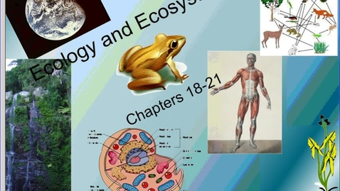 Thumbnail for entry Mr. Matchell ecology and ecosystems day 1 notes podcast