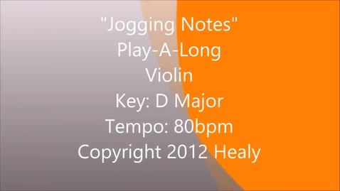 Thumbnail for entry Jogging Notes Play Along - Violin
