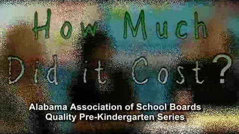 Thumbnail for entry AASB Pre-K Series: How Much Does It Cost?