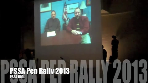 Thumbnail for entry PSSA Idol 2013 (PSSA PEP RALLY)
