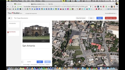 Thumbnail for entry Sharing Your Google Tour