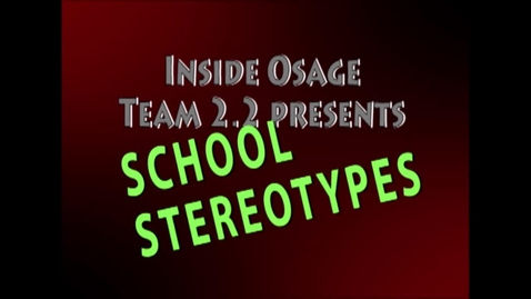 Thumbnail for entry School Stereotypes