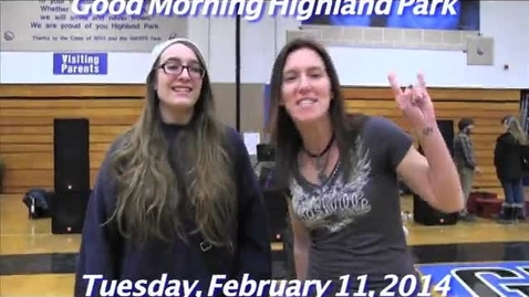 Thumbnail for entry Tuesday, February 11, 2014