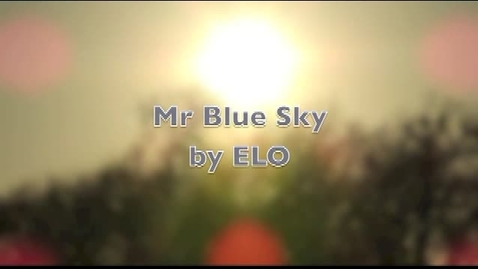 Thumbnail for entry Mr. Blue Sky Lip Sync by Trey Girlinghouse