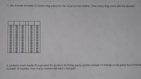 Thumbnail for entry Word Problem of the Day