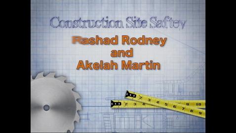Thumbnail for entry Safety PSA - Akelah & Rashad
