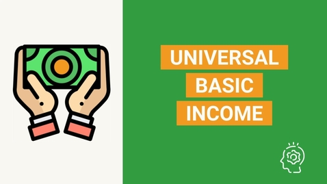 Thumbnail for entry What is Universal Basic Income? | UBI - Jessie Plexer explains in 5 minutes