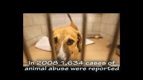 Thumbnail for entry Animal Abuse PSA