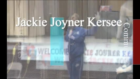 Thumbnail for entry Jackie Joyner Kersee Visits Hickey Elementary