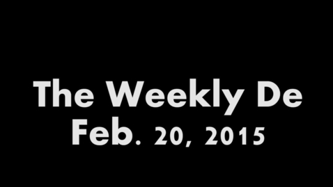 Thumbnail for entry 2015.02.20 - Weekly De